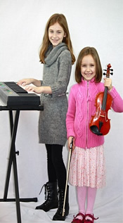 Piano Lessons & Violin Lessons for Kids