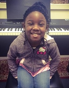 Essence just started taking piano lessons.